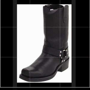 Durango Leather Harness Boots